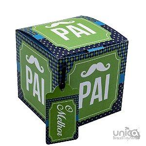 Caixinha Para Caneca Pai Verde - 12 Unidades