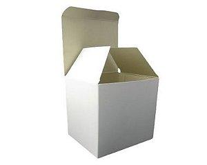 Caixinha Para Caneca Branca Resinada - 12 Unidades