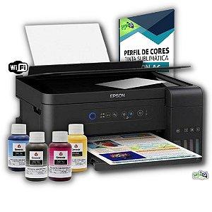 Impressora Jato de Tinta Epson Sublimatica L3150 wifi