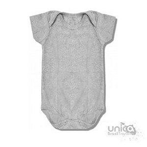 Body Baby Para Sublimação 100% Poliester - Cinza