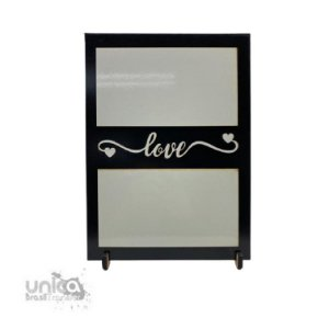 Porta Retrato MDF Lux Love