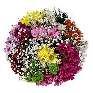 Buquê com Flores do Campo