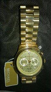 c5fdac25f5c Réplica de Relógio Michael Kors MK5662 Limited Edition New York Dourado