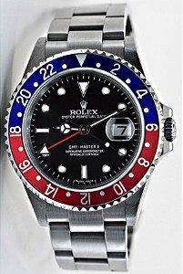6240c1f947b Réplica de Relógio Rolex Oyster Perpetual Date GMT-MASTER II Automático