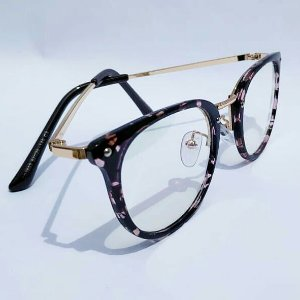 1def652a0 Óculos Receituário Arredondado - Preto & Dourado - Ary Óculos e Armações