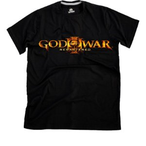 Camiseta God of War Remastered