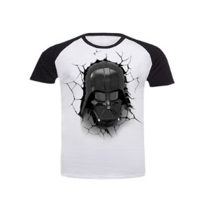 Camiseta Raglan Star Wars Darth Vader
