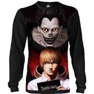 Camiseta Manga Longa Death Note