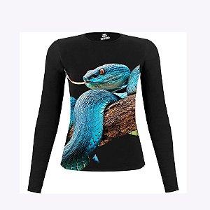 Camiseta Manga Longa Cobra