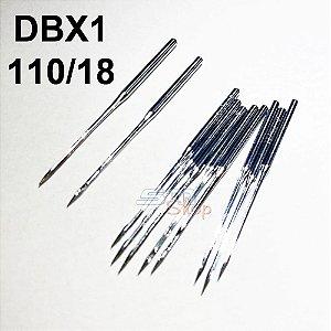 Agulha DBX1 110/18 para Máquinas de Costura e Bordado Industrial