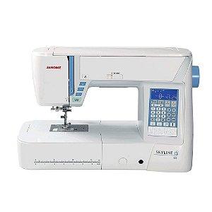 Máquina de Costura Janome SKYLINE S5 para Quilt e Patchwork