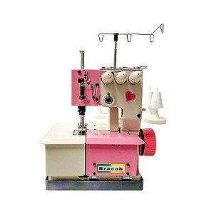 Máquina de Costura Galoneira Industrial Bracob BC2600 3 Agulhas