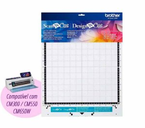 Esteira de corte baixa aderência 30x30 cm CAMATLOW12 Scanncut CM300, CM550 ou CM650W