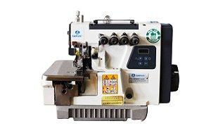 Máquina de Costura Overlock Industrial Sansei SA-M798D-4-24 Ponto Cadeia Direct Drive