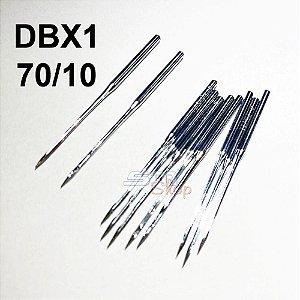 Agulha DBX1 70/10 para Máquinas de Costura e Bordado Industrial