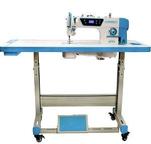Máquina de Costura Reta Industrial Lumak LU8800D com Kit de Calcadores + Bobinas + Agulhas