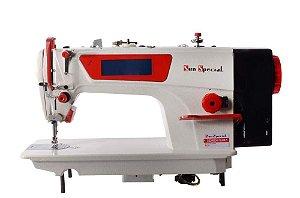 Máquina de Costura Reta Eletrônica SunSpecial - SS2800d4-tz-hm