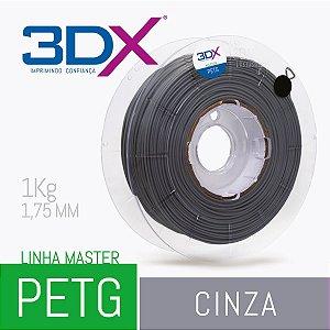 Filamento PETG 1Kg 1,75 Cinza