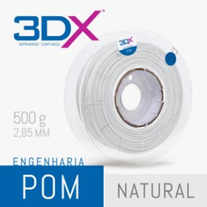 Filamento POM 500g 2,85 Natural