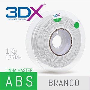 Filamento ABS 1kg 1,75 Branco