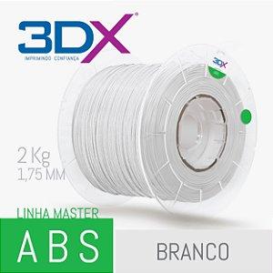 Filamento ABS 2kg 1,75 Branco BIG