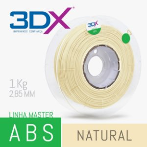 Filamento ABS 1kg 2,85 Natural