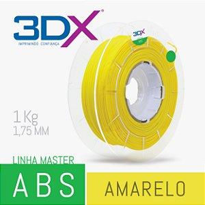 Filamento ABS 1kg 1,75 Amarelo