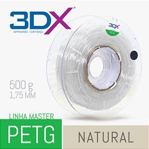 Filamento PETG 500g 1,75 Natural