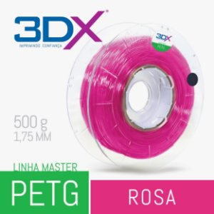 Filamento PETG 500g 1,75 Rosa Neon