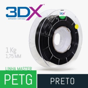 Filamento PETG 1Kg 1,75 Preto