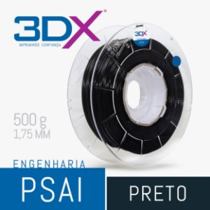 Filamento PS AI 500g 1,75 Preto