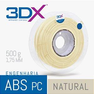 Filamento ABS PC 500g 1,75 Natural