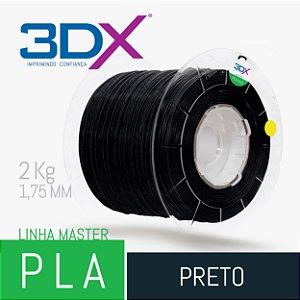 Filamento PLA HT 2kg 1,75 Preto BIG