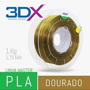 Filamento PLA HT 1kg 1,75 Dourado