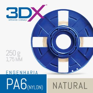 Filamento S2 PA Nylon 1,75 250g Natural