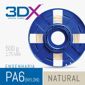 Filamento S2 PA Nylon 1,75 500g Natural
