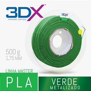 Filamento PLA HT 500g 1,75 Verde Metal