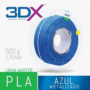 Filamento PLA HT 500g 1,75 Azul Metal