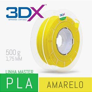Filamento PLA HT 500g 1,75 Amarelo