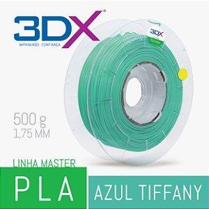 Filamento PLA HT 500g 1,75 Azul Tiffany