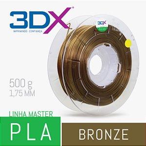 Filamento PLA HT 500g 1,75 Bronze