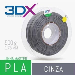 Filamento PLA HT 500g 1,75 Cinza