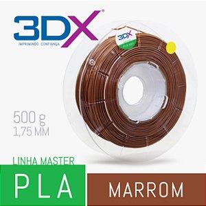 Filamento PLA HT 500g 1,75 Marrom (Orgânico)