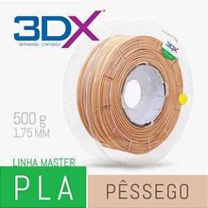 Filamento PLA HT 500g 1,75 Pêssego (pele ou Nude)