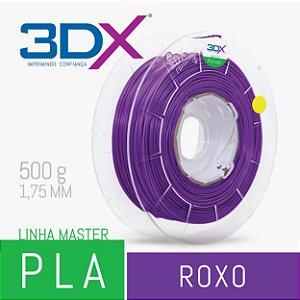 Filamento PLA HT 500g 1,75 Roxo (Lilas) (LI PLLI001)