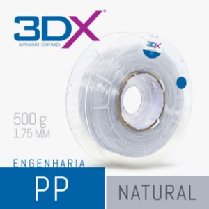 Filamento PP Natural 1,75 Mm 500g (polipropileno)