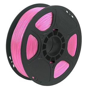 Filamento TPU Flexível D40 1kg 1,75 Rosa Translucido (Realmaker)
