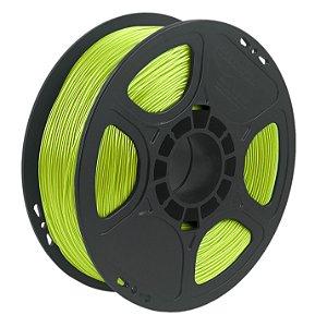 Filamento TPU Flexível D40 1kg 1,75 Verde Limão (Realmaker)