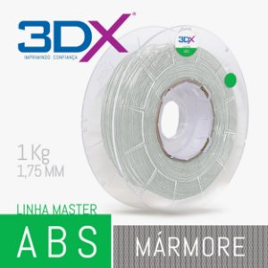 Filamento ABS 1kg 1,75 Marmore