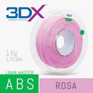 Filamento ABS 1kg 1,75 Rosa